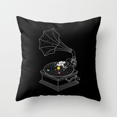 Star Track Throw Pillow