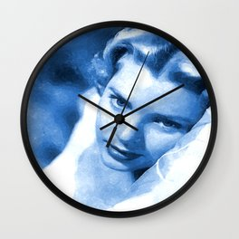Grace kelly 3 Wall Clock