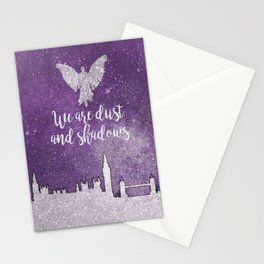 We are dust and shadows Stationery Cards