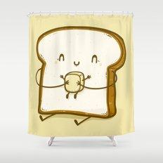 Bread & Butter Shower Curtain