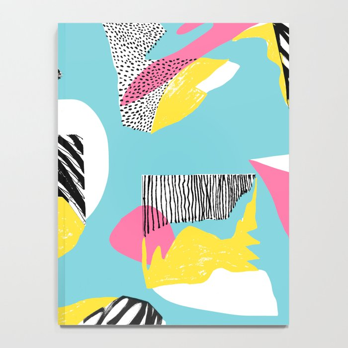 Modern living with lagoon view Notebook