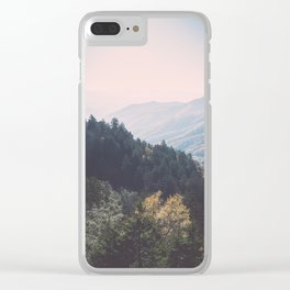 Smoky Mountains National Park Clear iPhone Case