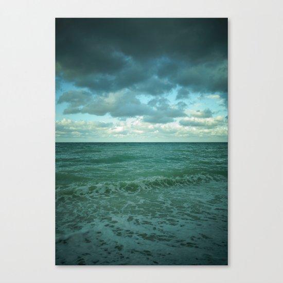 cielo vs mare Canvas Print