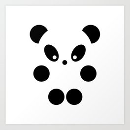 Little panda #society6 #decor #buyart #artprint Art Print