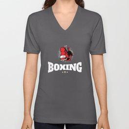 Boxing - boxing, martial arts, boxers Unisex V-Neck