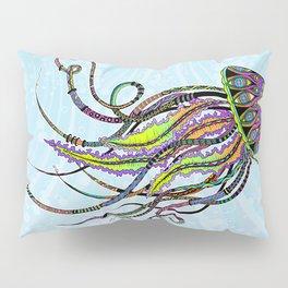 Electric Jellyfish Pillow Sham