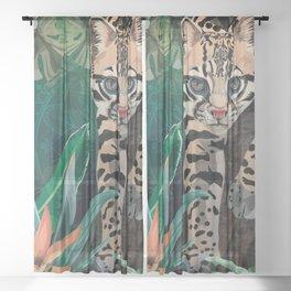 Ocelot Sheer Curtain