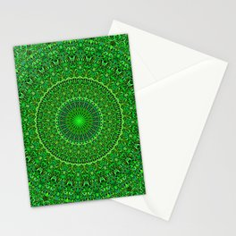 Spiritual Forest Garden Mandala Stationery Cards