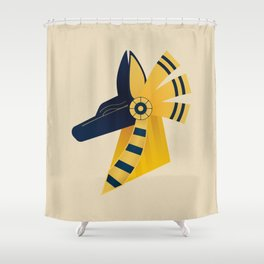 Anubis Shower Curtain