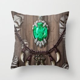 Kileanna's Necklace Throw Pillow