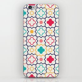 Cute Eastern Pattern iPhone Skin