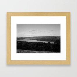 Keuka Lake, New York Framed Art Print