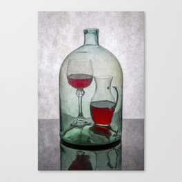 Internal contents Canvas Print