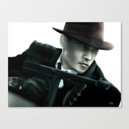 Johnny Depp// John Dillinger Canvas Print