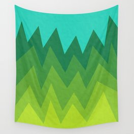 Green Summer Forest Wall Tapestry