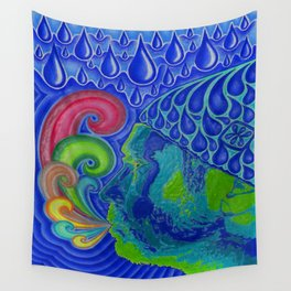 Exhale Wall Tapestry