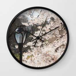 April in NYC Wall Clock
