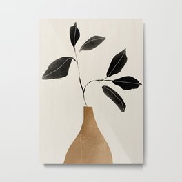 minimal plant 6 Metal Print