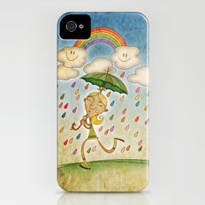 Rain iPhone (4, 4s) Slim Case