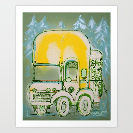 Tha Expedition Art Print