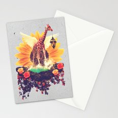 Girafflower. Stationery Cards