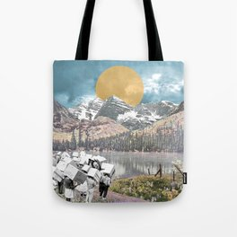 How Did We Get Here? Tote Bag