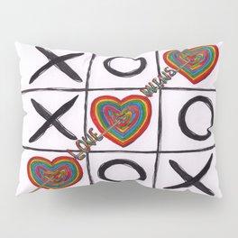Love Wins Drawing Pillow Sham