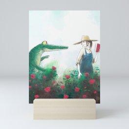 Gardener Mini Art Print