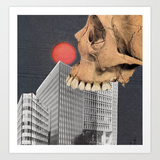 Haunted By Clowns Art Print