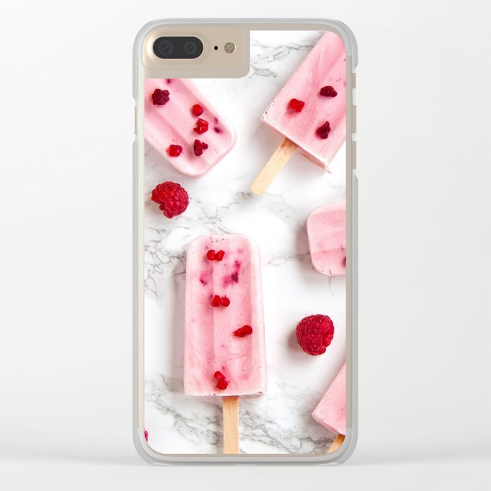 popsicle #decor #buyart #society6 Clear iPhone Case