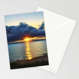 Hallowed Eve's Sunset Stationery Cards