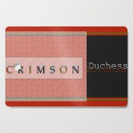 Crimson Duchess Cutting Board