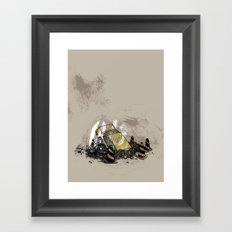 Where is? daddy Framed Art Print
