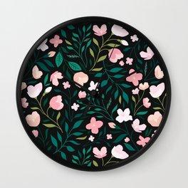 Wild Jasmine Wall Clock