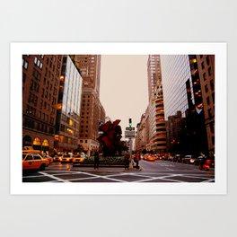 NYC Streets I  Art Print