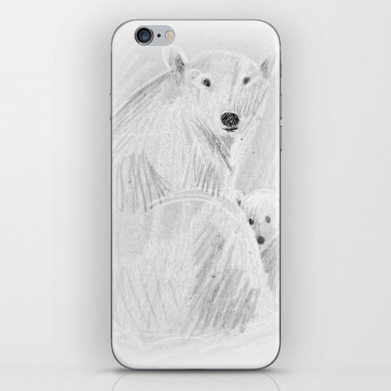 arctic bears iPhone & iPod Skin