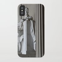lincoln iPhone & iPod Cases featuring Lincoln.  by Jeska Speck