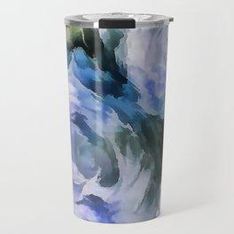 Blue rose. Travel Mug