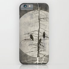 Full Moon and Crows iPhone 6 Slim Case