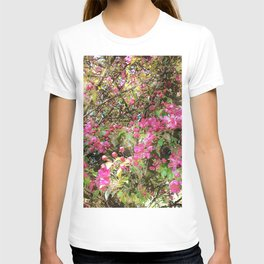 Springtime, purple blossoms T-shirt