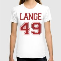 jessica lange T-shirts featuring Jessica Lange Varsity by NameGame