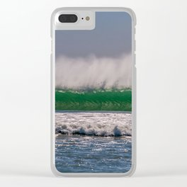 Offshore Wall Clear iPhone Case