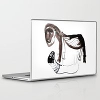 lions Laptop & iPad Skins featuring LIONS by Valeria Kondor