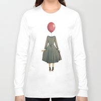 balloon Long Sleeve T-shirts featuring Balloon  by MojoPhoto59