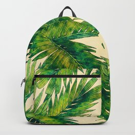 Palms #palm #palms #flower Backpack