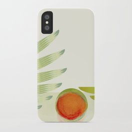 green 2 | digital sessions iPhone Case