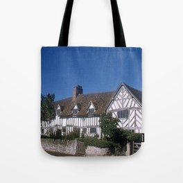 Mary Arden * 15th Century * England * 1950's * Vintage Photo * Travel Photography * Kodachrome Tote Bag