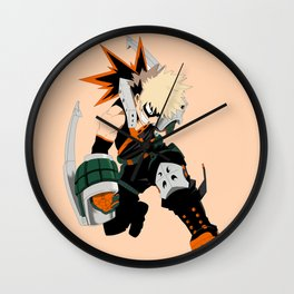 Katsuki Smile Wall Clock
