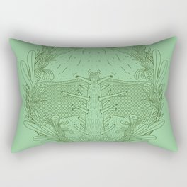 One Tree Left Rectangular Pillow
