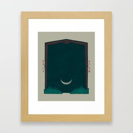 The Night Framed Art Print